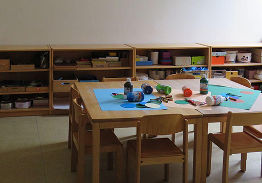 Kreativwerkstatt - Tische